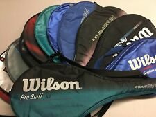 Wilson Vintage Pro Staff Full Size Racket Cover Case You Pick Combined Shipping
