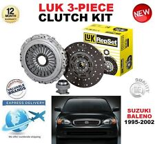 FOR SUZUKI BALENO EG 1.3 16V ESTATE 86 BHP 1997-2002 LUK 3 PIECE CLUTCH KIT