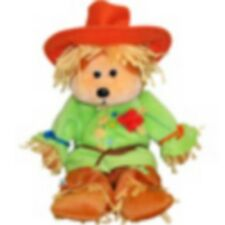 "SKANSEN  BEANIE KID ""SMARTY"" THE SCARECROW  BEAR NEW & MINT WITH MINT TAG"