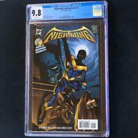 Nightwing Limited Series #1 (DC 1995) 💥 CGC 9.8 White Pgs 💥 Batman App! Comic