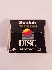 . Scotch Disc Color Print Film