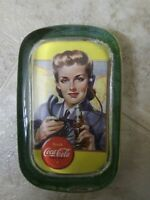"""Coca-Cola Collectible Paperweight 4""""x 2"""" x .75"""" EXCELLENT CONDITION"""