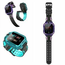 Kids Phone Watch 4g Gps Positioning Dual Cameras Flipped 360-degree Rotation Vid