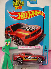 Case N 2014 Hot Wheels '12 FORD MUSTANG BOSS 302 LAGUNA SECA #91 US∞burnt red;50