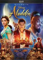 Aladdin DVD - Live Action Version 2019- Will Smith - Brand New - Free Ship!