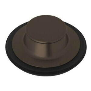 NEW Rohl 744TCB Disposal Stopper for Standard 3-1/2 inch Drains Tuscan Brass