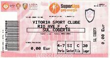 Ticket - Vitoria Sport Clube v Rio Ave FC 10.04.2004