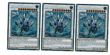 Yugioh 3 X Trishula, Drache der Eisbarriere BLLR-DE060, Secret Rare, Playset