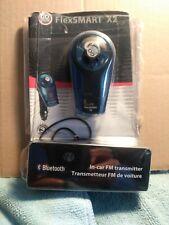 GOgroove FlexSMART X2 Bluetooth Wireless In-Car FM Transmitter with USB Charging