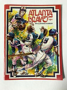 Atlanta Braves 1975 Illustrated Yearbook - Dusty Baker, Dave Johnson