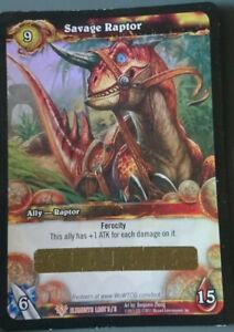WoW Loot Card - Wilder Raptor - Savage Raptor