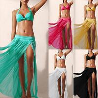 Summer Women's Gypsy Boho Tribal Floral Skirt Maxi Beach Long Casual Skirt Dress