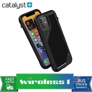 Catalyst Vibe Impact Case for iPhone 12 and 12 Pro - Black