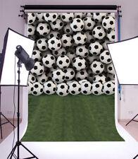 Soccer sports Photography Background 5x7ft Vinyl Photo Studio Backdrops