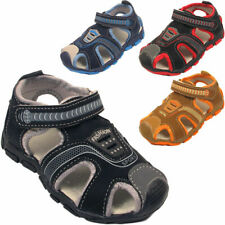 KIDS BOYS INFANTS SPORTS SUMMER EASY TOUCH STRAP CHILDRENS OUTDOOR SANDALS SHOES