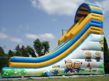 NEW Commercial Bouncy Slide inflatable slides MINIONS