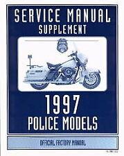 1997 Harley Davidson Flhtp Flhp Flhp-1 Service Manual Supplement : 99483-97Sp