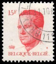 "BELGIUM 1093 (Mi2176) - King Baudouin ""White Gum Printing"" (pf30971)"