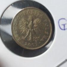 Poland 2007 1 grosz pre-euro coin  !