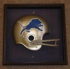 Late 1970's Detroit Lions Large Plastic NFL Helmet Display