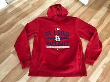 St Louis Cardinals: Red Hooded Sweatshirt MLB: MEN'S MEDIUM: EXCELLENT CONDITION