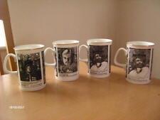 B & W Thornton Shakespeare Mugs X4 ~ Stratford Upon Avon