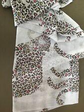 Leopard Design Scarf By Black Ginger