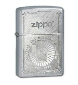 Zippo Genuine Refillable Cigarette Lighter, 50th Anniversary #39 New With Box