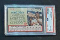 "1962 Post #149 Hank Aaron🍒🏆PSA 4🏆🍒 ""Home Run King"" (no juice) RARE Red Lines"