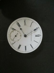 E Howard & co pocket watch movement
