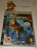UNCHARTED 2 Among Thieves PS3 New Sealed UK PAL Version Game Sony PlayStation 3