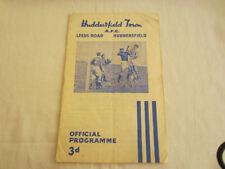 Huddersfield Town FA Cup Home Teams F-K Football Programmes