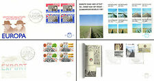 Netherlands Stamps - 4 First Day Covers from 1980s -  Churchill & Wilhelmina 26