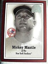#1 Mickey Mantle 2000 Fleer Greats Of The Game - Yankee Legendary Centerfielder