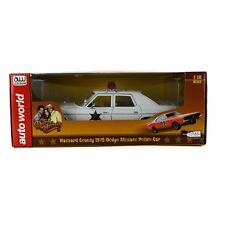 Autographed Auto World Dukes Hazzard 1975 Dodge Monaco 1/18 Diecast Model Police