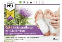 10 Kenrico Kräuterpflaster, Patchs Vitaux avec le Chardon-Marie