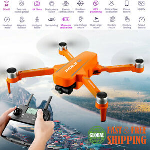 6K 5G Dual Camera HD Drone GPS WIFI FPV RC 30min Quadcopter RTF Return Home