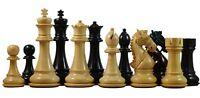 "Bridle Series Premium Staunton 4.4"" Chess Set in ebony wood"