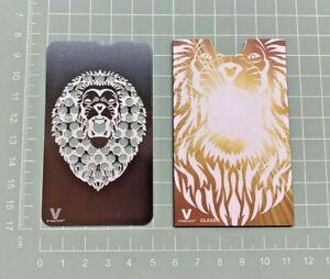 Roaring Lion, Grinder Card Metal Tool - Credit Card Size