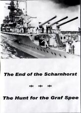 END OF THE SCHARNHORST + HUNT FOR THE GRAF SPEE  (in German; no subtitles)