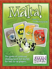 Malta - family card game - Ages 8 and up - NIB