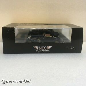 MERCEDES BENZ 540K TYPE A CABRIOLET SPIDER OPEN 1936 #NEO 1/43 #NEO46165
