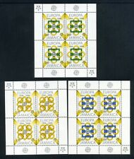 JAMAICA  2005  Europa  Set of 3 in sheetlets of 4  SG 1079-1081  MNH (S*-10)