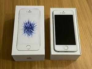 Apple iPhone SE 128GB White/Silver (2016) - in original box - A1723 MP872B/A