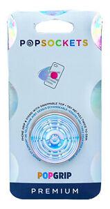 PopSockets Premium Ripple Opalescent Blue Swap Top PopSocket Pop Socket PopGrip