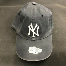 '47 Twins MLB New York Yankees Dark Grey Fixed Size Fitted Hat Cap NEW