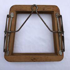 Vintage Dunlop Tennis Racket Press Wood Frame Protector