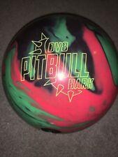 15lb bowling ball (pitbull bark low games)
