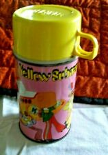 VINTAGE 1968 YELLOW SUBMARINE THERMOS ONLY!!!