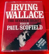 Irving Wallace The Seventh Secret 2-Tape Audio Paul Scofield Hitler Alt.History